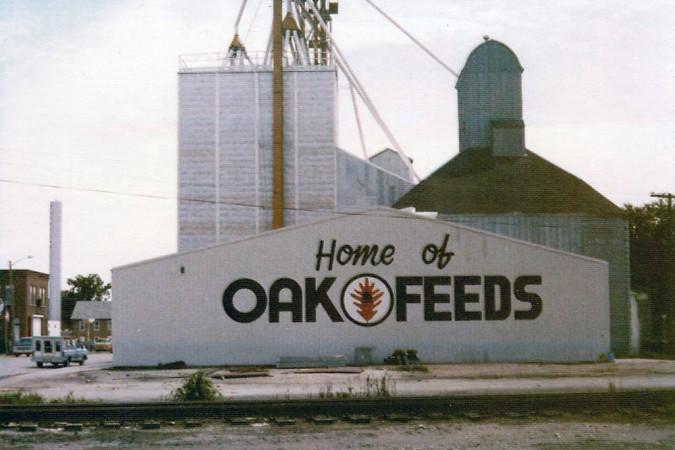 Oak Feeds building 1970s