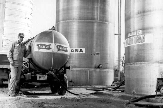 Worker Arcadian Tank 1967